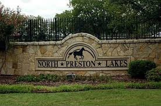 North Preston Lake Estates Celina Texas