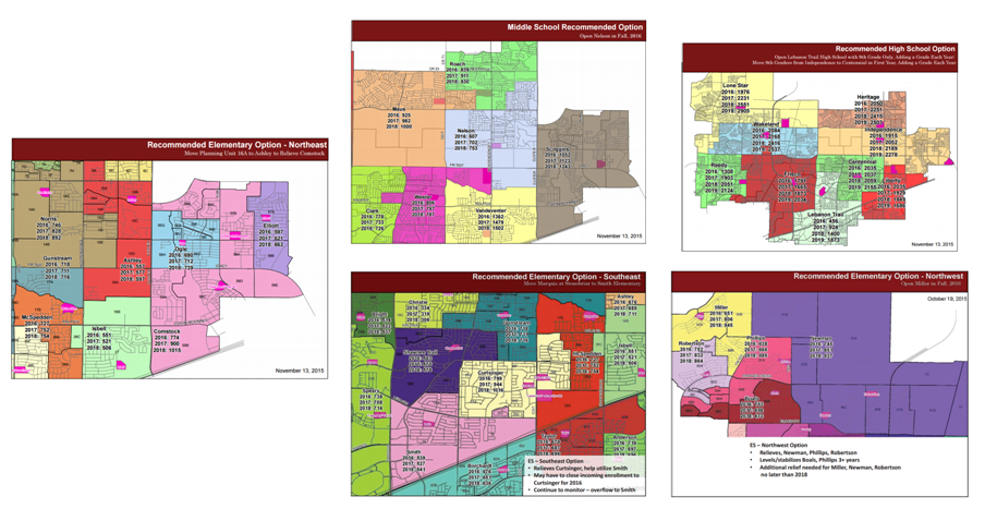Frisco ISD 2016-17 Rezoning Changes