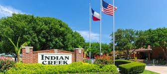 Indian Creek, Plano Texas