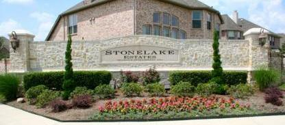 Stone Lake Estates, Plano Texas