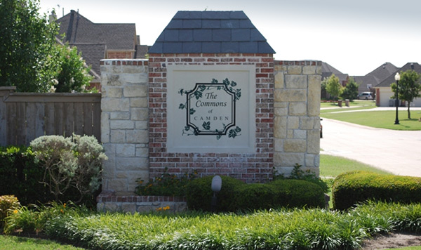 The Commons of Camden subdivision Lucas Texas