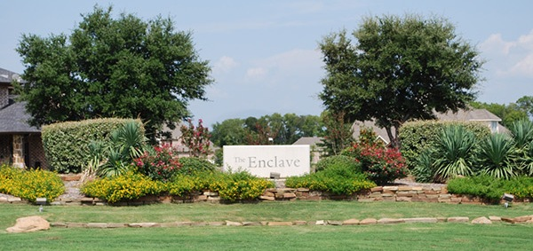 The Enclave subdivision Lucas Texas