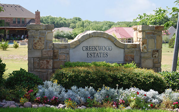 creekwood estates subdivision Lucas Texas
