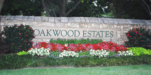 oakwood estates subdivision fairview texas