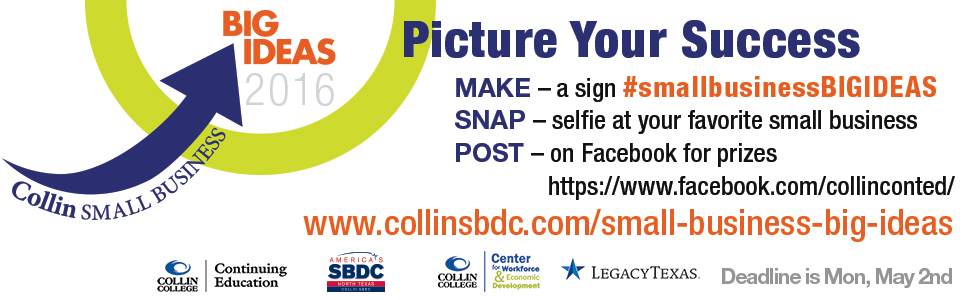Collin College SBDC to Celebrate National Small Business Week