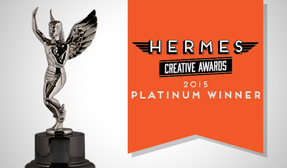Mckinney Texas wins Hermes Creative Award