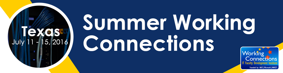 Summer Working Connections 2016