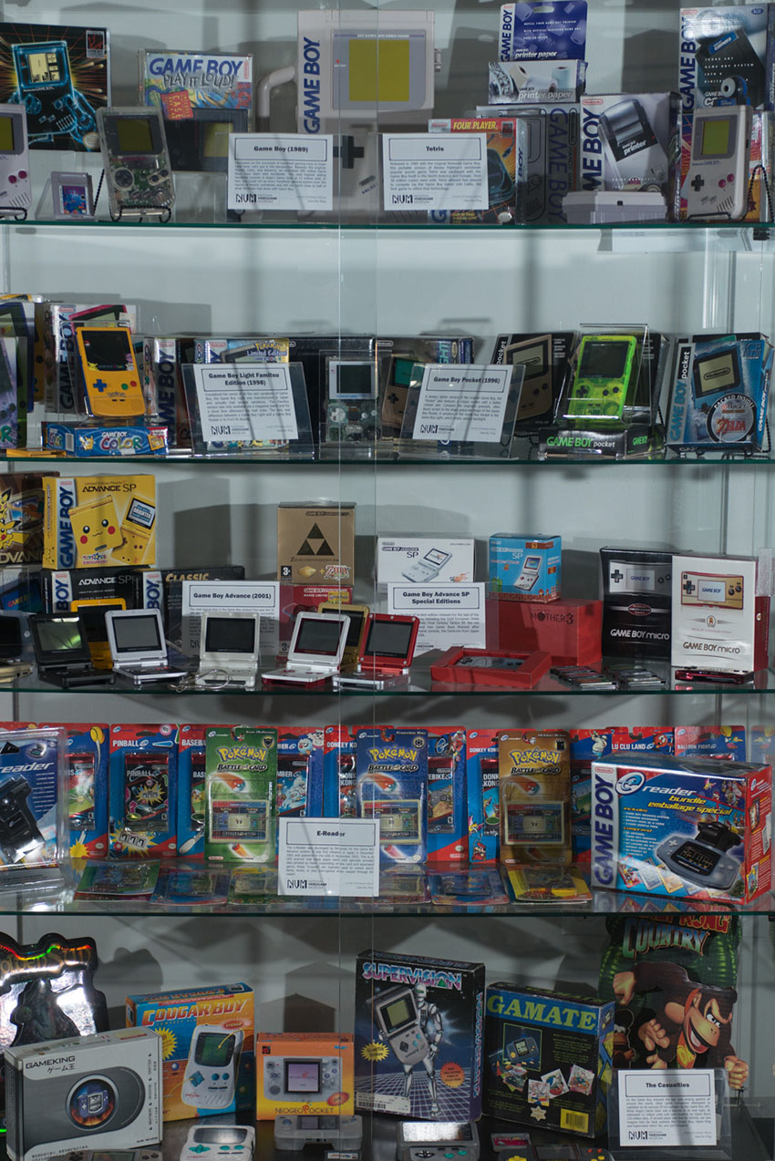 national videogame museum display Case