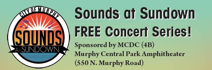Sounds at Sundown concert in Murphy