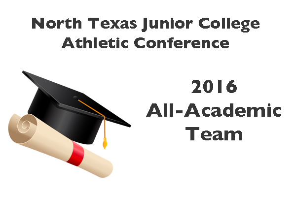NTJCAC Academic All-Conference Team 2016