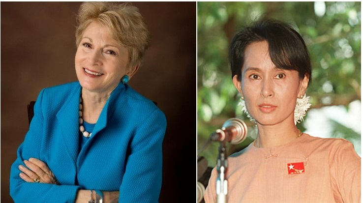 Rena Pederson to tell story about Nobel Peace Prize Winner Aung San Suu Kyi