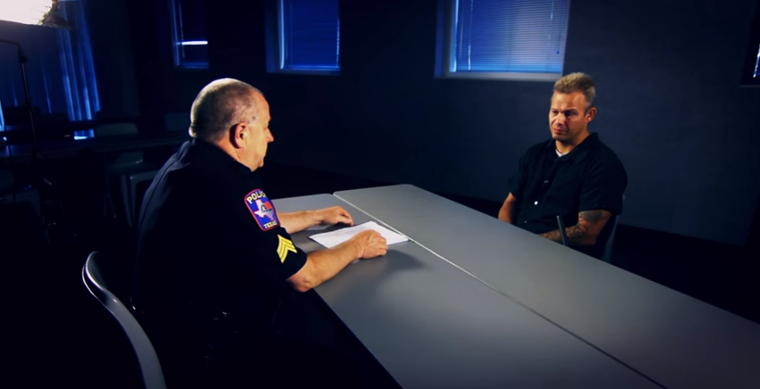 allen police interviews serial thief
