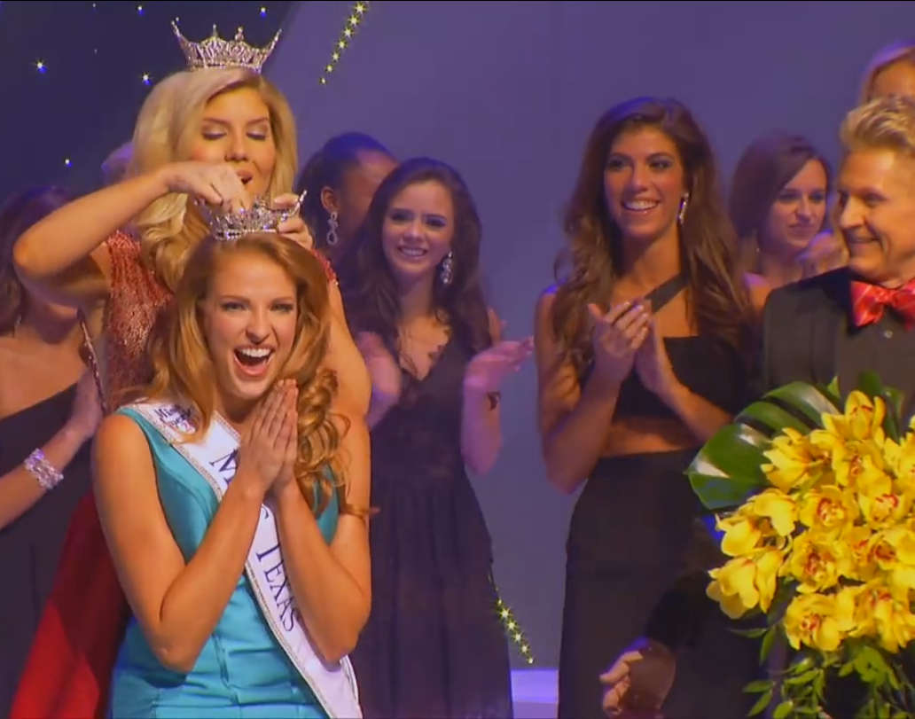 Caroline Carothers in Miss Texas