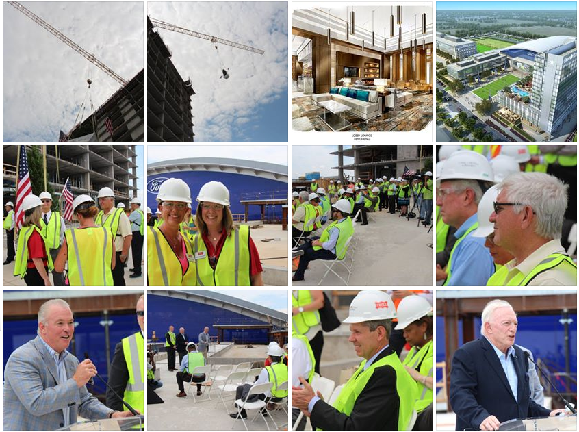 Omni Frisco Hotel marks construction milestone with Topping Off