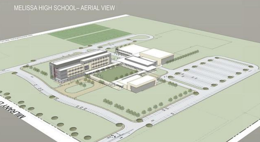 Melissa High School design unveiled by Corgan Architects